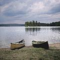 Canoes - Canisbay Lake