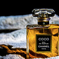 Chanel Vintage Perfume Bottle